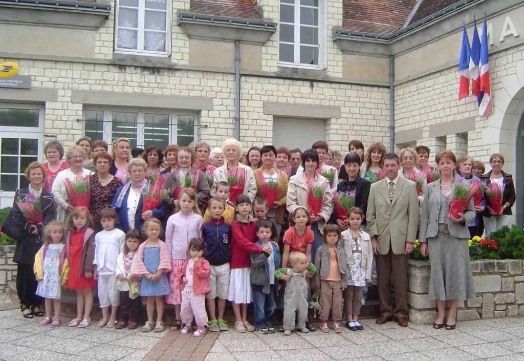 Fête des mères 2009 - crédit photo commune de Maillé