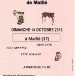 BROCANTE MAILLÉ   14 octobre 2018