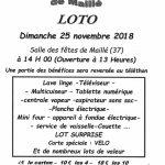 LE GRAND LOTO DE LOISIRS ANIMATIONS MAILLÉ